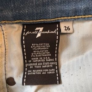 7 For All Mankind Jeans - 7 for All Mankind Light Wash Skinny Jeans